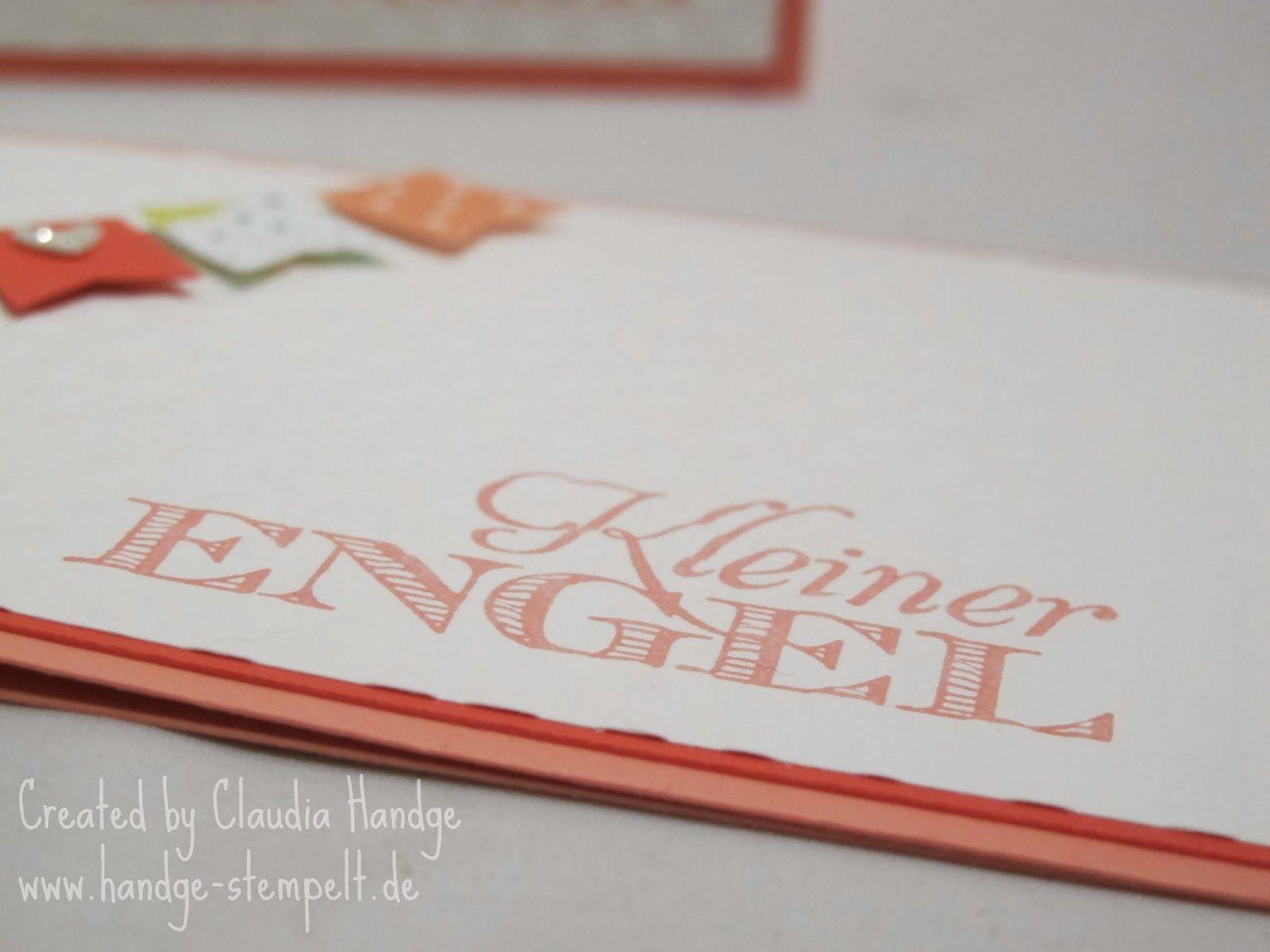 Claudinchens-kreative-Seite: Kleiner Engel