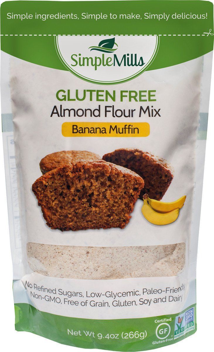 Simple mills almond flour muffin mixes variety pack pack