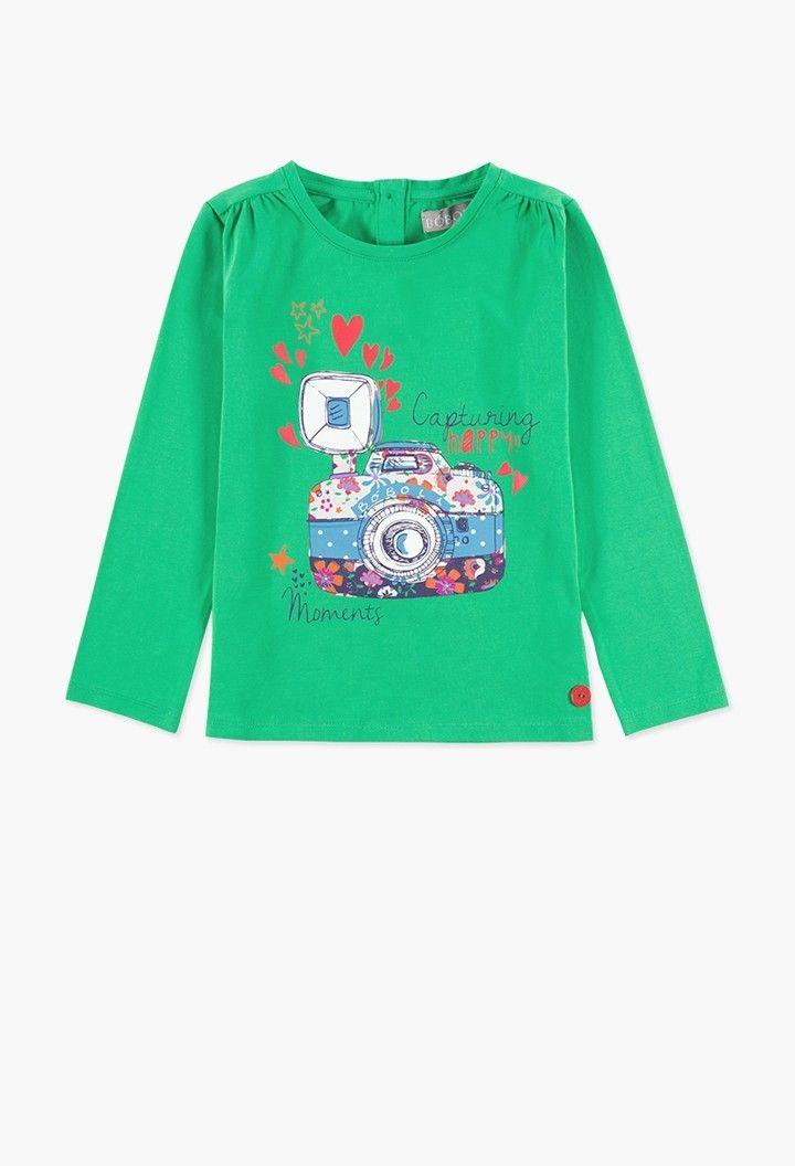 870699c0e Camiseta malha elástica para menina - Boboli