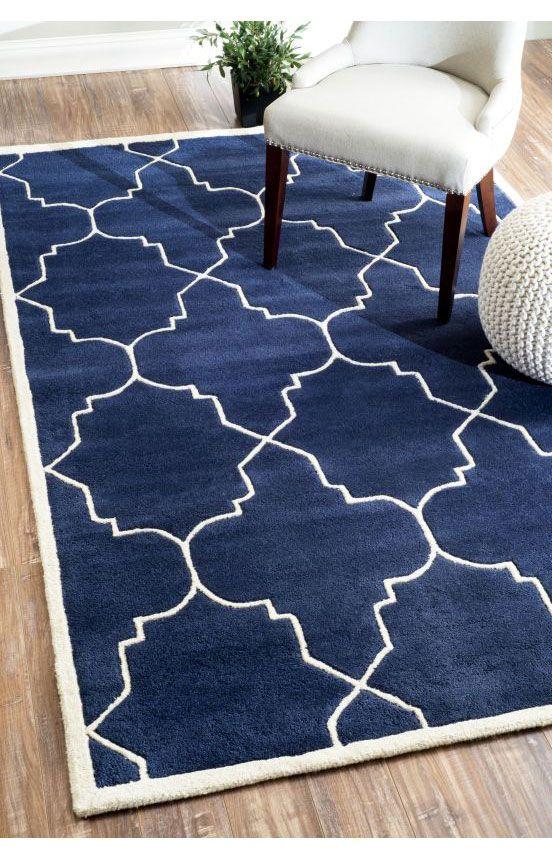 Rugs Usa Savanna Lattice Ve23 Navy Rug Cyber Monday 75 Off Area Carpet Design Style Home Decor Interior Pattern