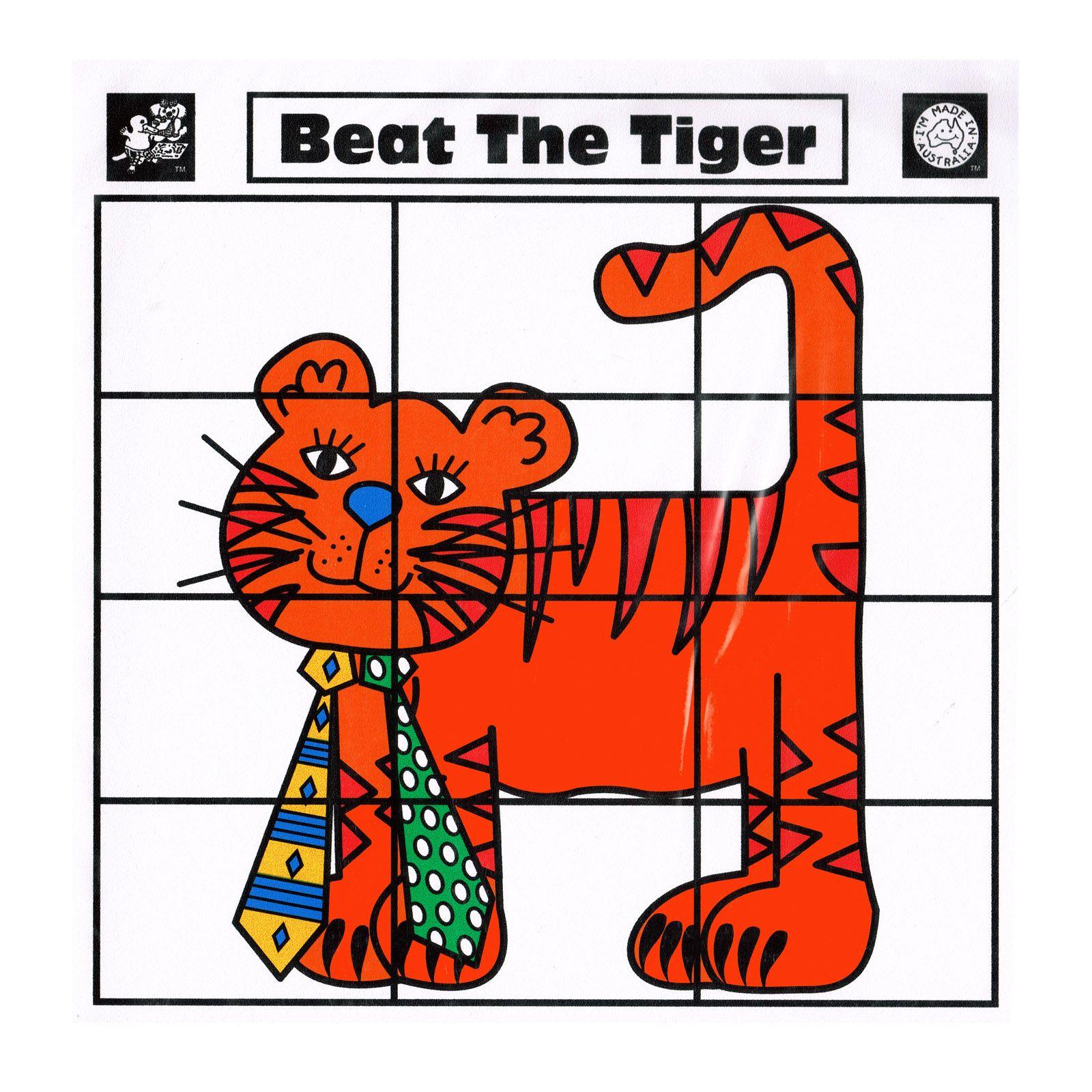 Beat The Tiger Kids Bingo Reading Game Eenanttoys