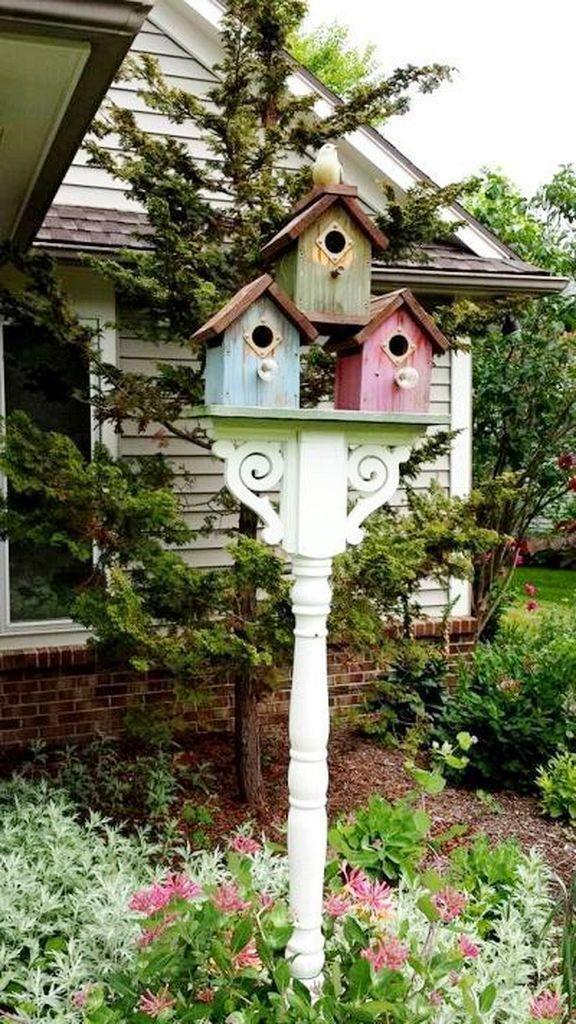30 Creative Bird House Ideas For Beautiful