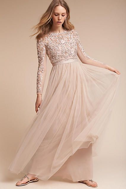 Anthropologie Rhapsody Wedding Guest Dress Ad