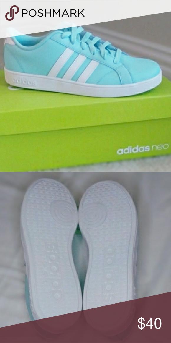 adidas Shoes   Adidas Neo (Big Kid)   Color: Blue   Size