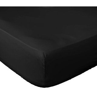 Microfiber Deep Pocket Fitted Sheet Only By Lux Decor Collection Queen White Porch Den In 2020 Fitted Bed Sheets Satin Sheets Bedding Basics