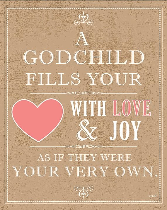 Quotes About Godchildren This Is How I Feel About Both My