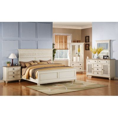 Coventry Two Tone Panel Bedroom Collection - http://delanico.com/bedroom-sets/coventry-two-tone-panel-bedroom-collection-499685353/