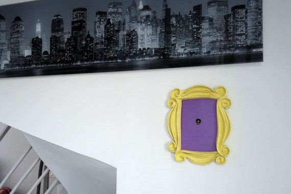 FRIENDS tv show frame friends peephole frame by LaRetrotienda ...