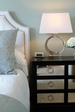 Transitional High Rise Home - transitional - Bedroom - Dallas - Traci Connell Interiors