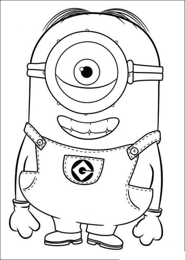 Coloring Page Minions Minions 21 Minions Coloring Pages Minion Coloring Pages Halloween Coloring Pages