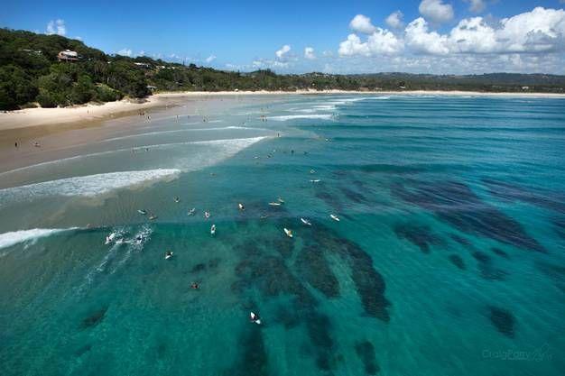 Byron Bay Est Un Endroit Paradisiaque Avec Ses Plages Infinies Pour Surfer Chaque Soir Il