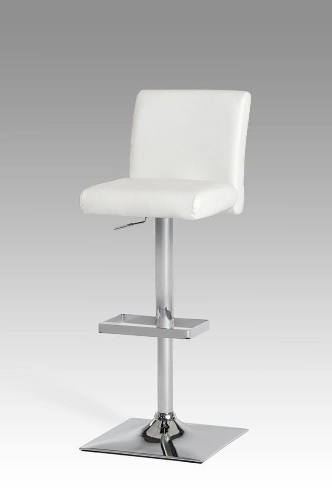 Interior Pleasing Off White Leather Counter Height Bar Stools From The Various Designs Of White Leather B White Leather Bar Stools White Bar Stools Bar Stools