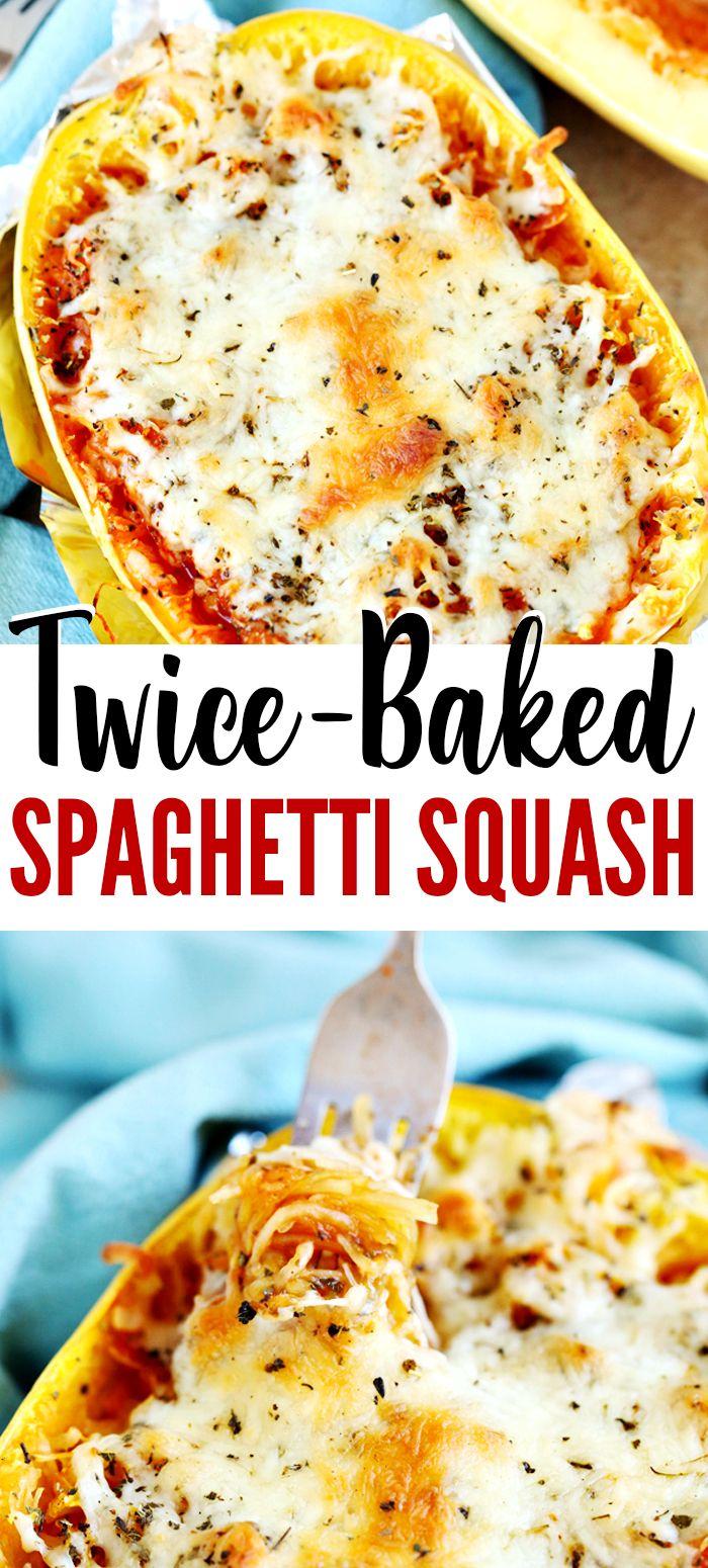 3-Ingredient Twice-Baked Spaghetti Squash