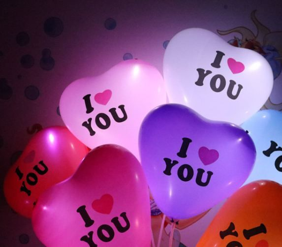 Glow In The Dark LED Balloon! Perfect for celebration and surprises for your love one.