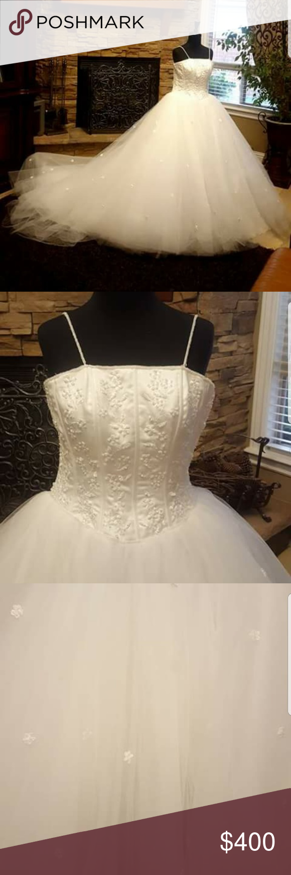 Wedding dress restoration  Princess style Mori Lee wedding dress size   My Posh Picks
