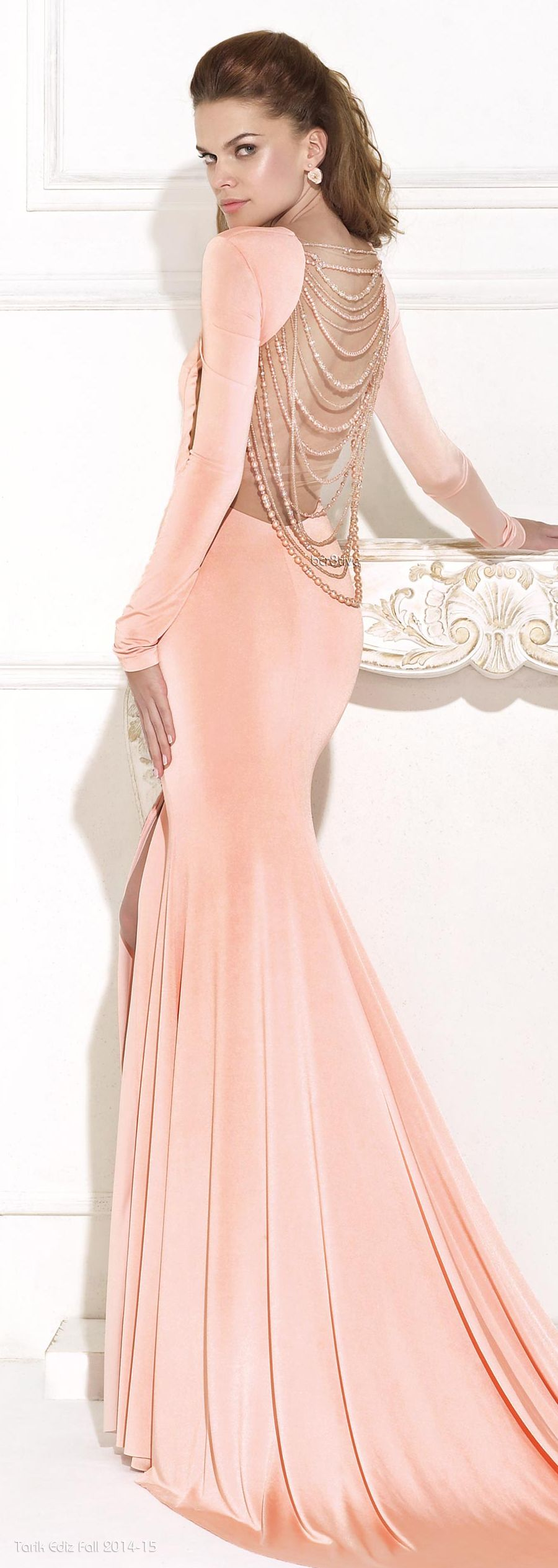 Tarik Ediz 2015 | vestidos fiesta | Pinterest | Espalda, Vestiditos ...