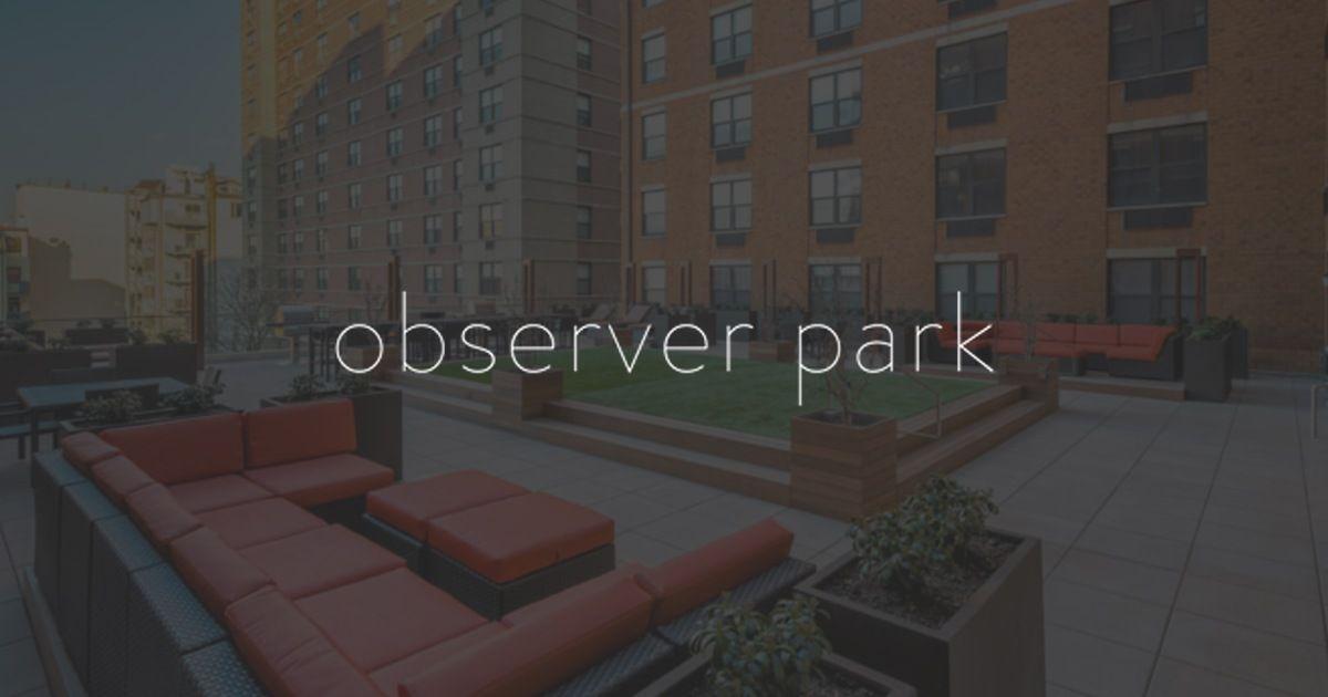 Observer Park Is A Pet Friendly Apartment Community In Hoboken New Jersey Pet Friendly Apartments Hoboken Apartment Communities