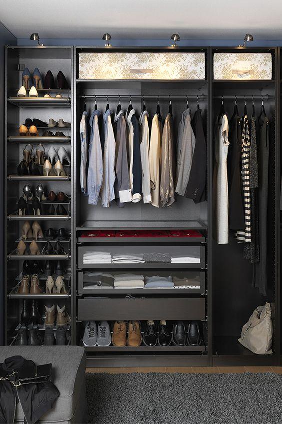 Yo quiero un armario con mucho espacio para mis zapatos y for Armario para zapatos