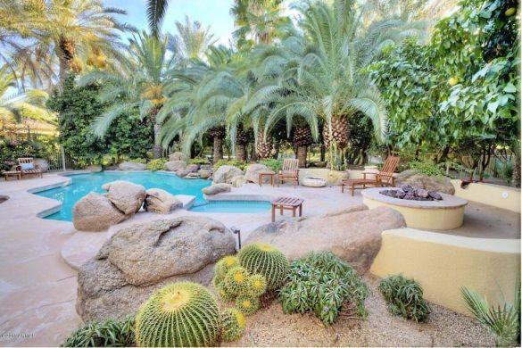 Garden Ideas Arizona arizona pool & cactus garden → for more, please visit me at: www