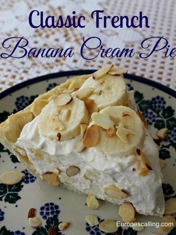 French Banana Cream Pie