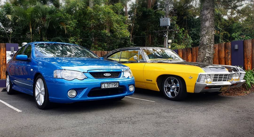 2012 Ford Falcon Mkii Xr6 Super Cab Extended Cab 4 0l 6 Cyl Yellow
