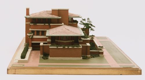 Architectural Model Of Frank Lloyd Wright S Frederick C Robie House Chicago Illinois Wood