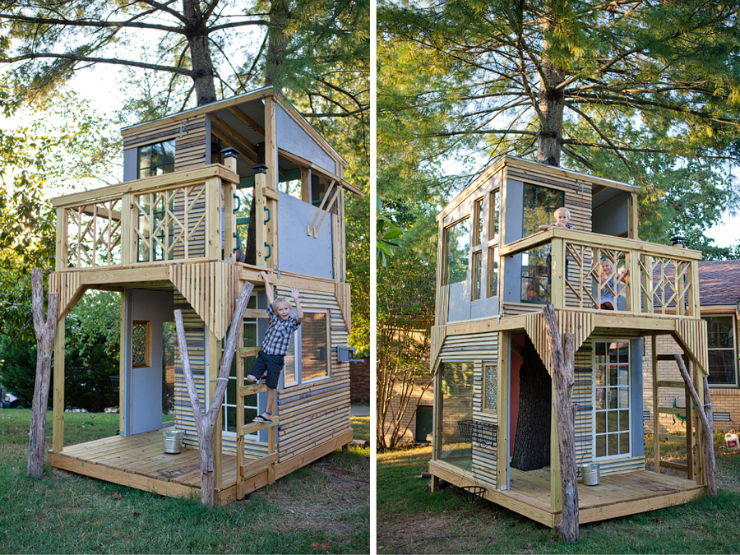 we need this tree house!