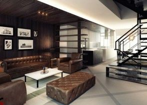 Contemporary Living Room Ideas   MODERN LIVING ROOM IDEAS   Inspiration #dunkleinnenräume