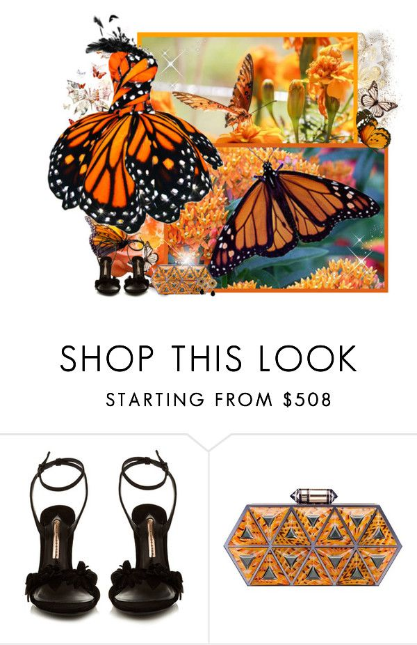 """""""Butterfly - Contest!"""" by asia-12 ❤ liked on Polyvore featuring Sophia Webster, Lolita Lorenzo and Dolce&Gabbana"""
