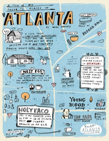 Image result for mike lowery map of atlanta
