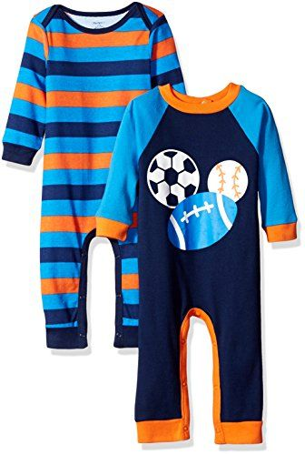 99de958d617 Gerber Boys 2 Pack Coverall Sports 12 Months   Check this awesome product  by going to