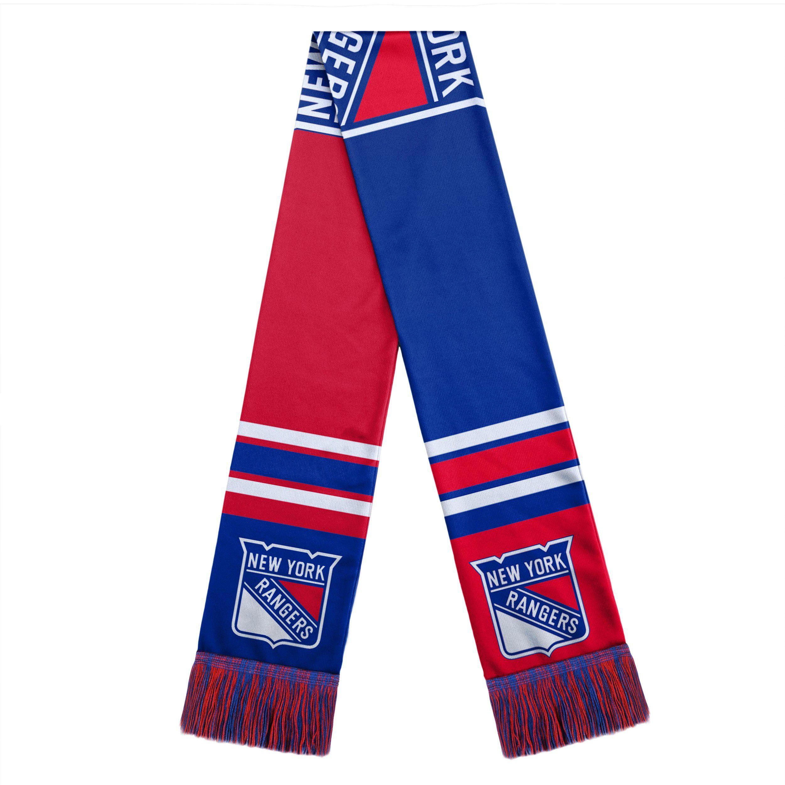 brand new 4a7b0 7b72d New! New York Rangers Scarf Colorblock Big Logo Design ...