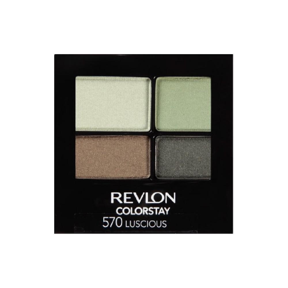 ظل عيون ريفلون 4 الوان رقم 570 متجر راق Colorstay Revlon Colorstay Eyeshadow