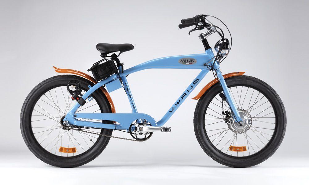 Vyrus Gulf Italjet E Bike Dal Sapore Vintage Ma Ad Alto Contenuto Tecnologico Made In Italy Di 2020
