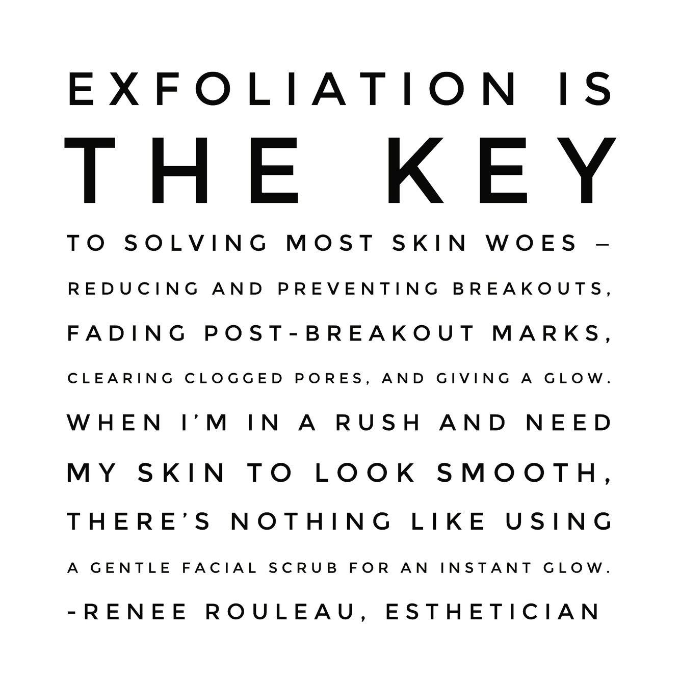 The Importance Of Skin Exfoliation  Renée Rouleau is part of How to exfoliate skin - 17  Physical or chemical exfoliation  Learn the difference and why exfoliation is so necessary for the health of the all skin types  What Is Skin Exfoliation  Exfoliation is defined as the removal of surface dry skin cells  How Do I … Continued