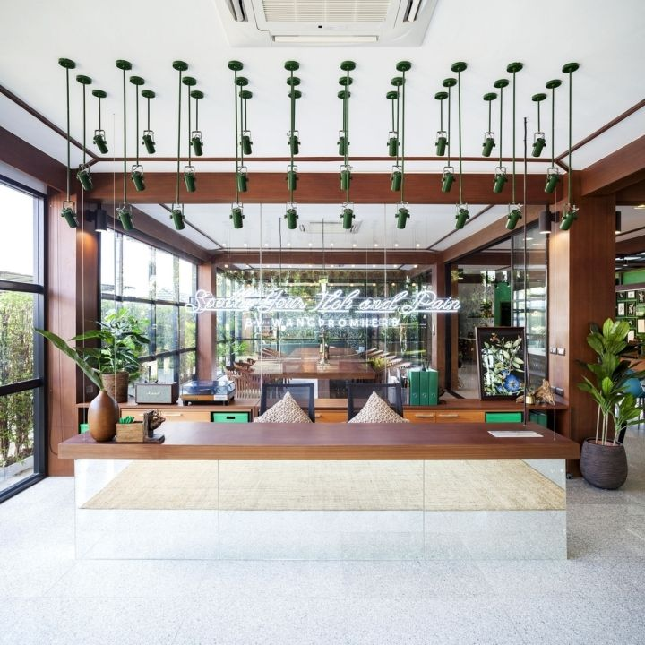 modern sampran wangprom office by apostrophy s nakhon pathom