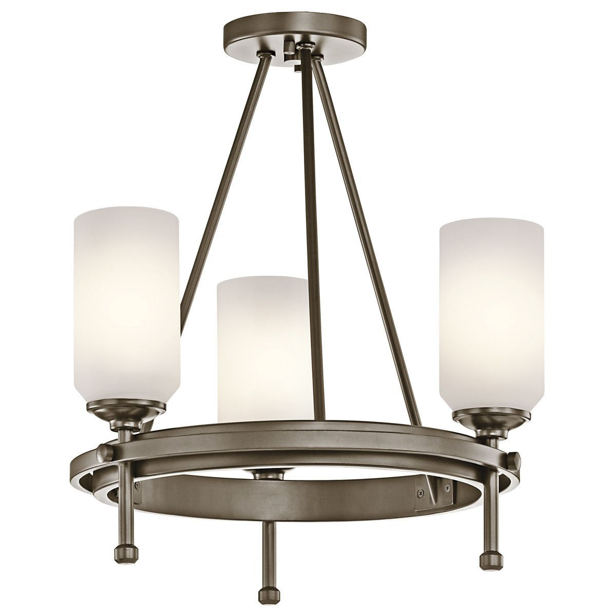 Ladero 3 Light Convertible Chandelier