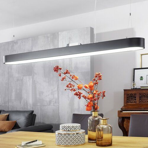Photo of LED-Linear-Pendelleuchte 1-flammig Boyer 17 Stories
