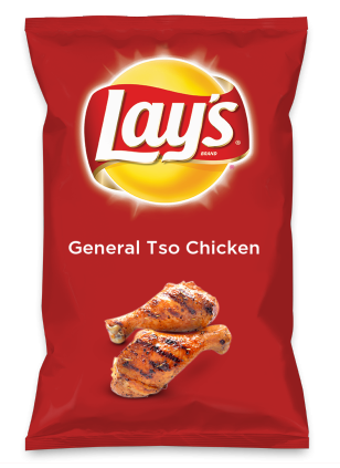 Wouldn't General Tso Chicken be yummy as a chip? Lay's Do Us A Flavor is back, and the search is on for the yummiest flavor idea. Create a flavor, choose a chip and you could win $1 million! https://www.dousaflavor.com See Rules.