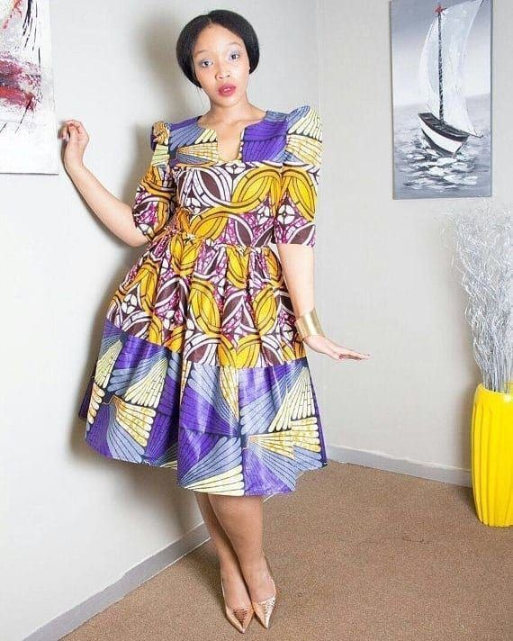 30 Best Kitenge Designs For Long Dresses 2019 Kitenge Styles Kitengedesigns 27 Kitenge Designs For Long Dr Kitenge Designs Kitenge Dress African Print Dresses