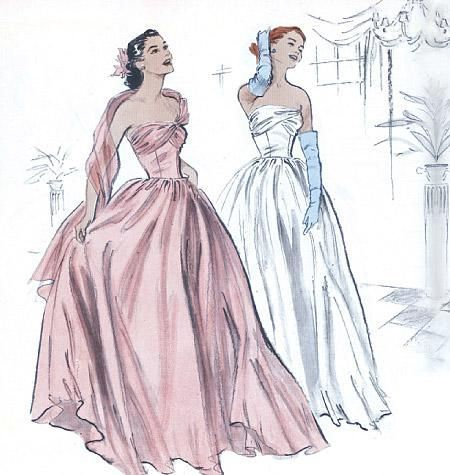 1950s Repro Vintage Sewing Pattern: Open Back Dress. Butterick 5605 -  1950s Repro Vintage Sewing Pattern: Floor Length Dress. Butterick 4918  - #1950s #Butterick #Dress #easySewing #handSewing #Open #Pattern #repro #Sewing #Sewingaesthetic #Sewingart #Sewingbaby #Sewingdiy #Sewingdress #Sewingforkids #Sewingforthehome #Sewingphotography #Sewingquilts #Sewingvideos #Vintage #vintageSewing