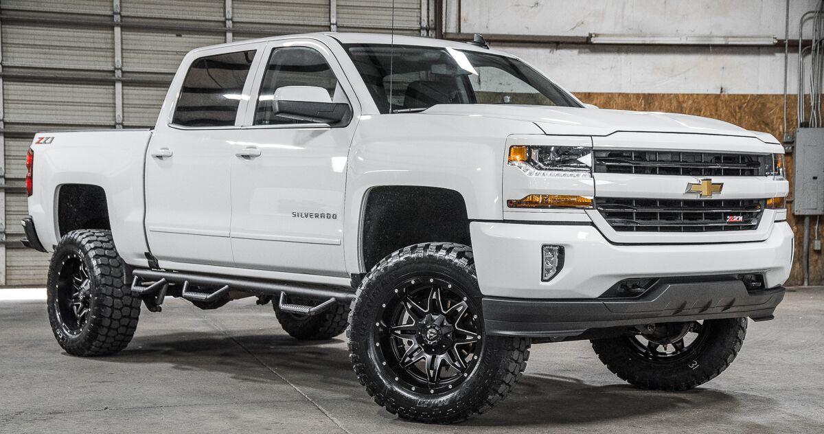 Sold Stock 9295 Lifted 2018 Chevrolet Silverado 1500 4x4 Crew