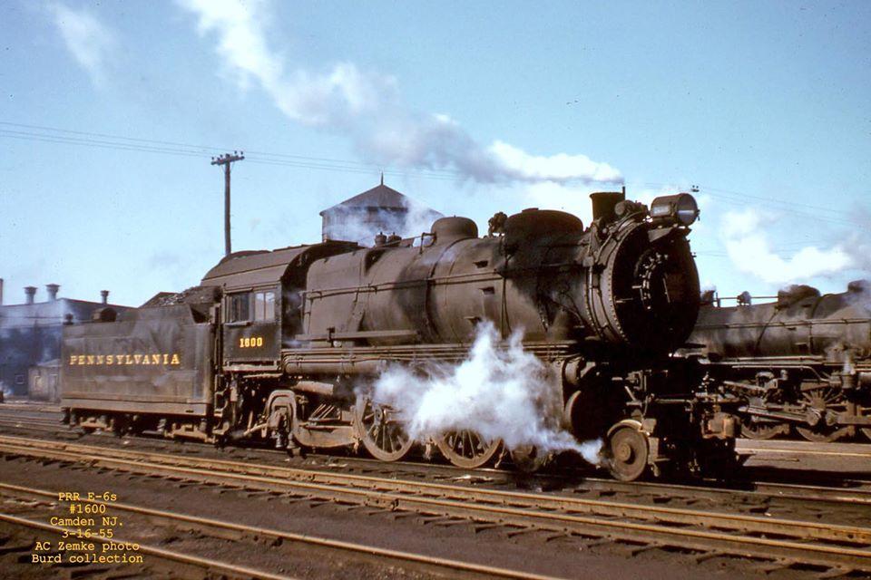 AC Zemke picture of PRR E6a 1600 Long island railroad