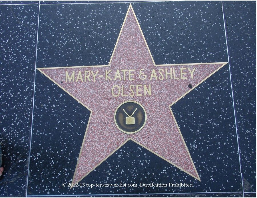 Hollywood Walk of Fame: Can you find your favorite star #hollywoodstars