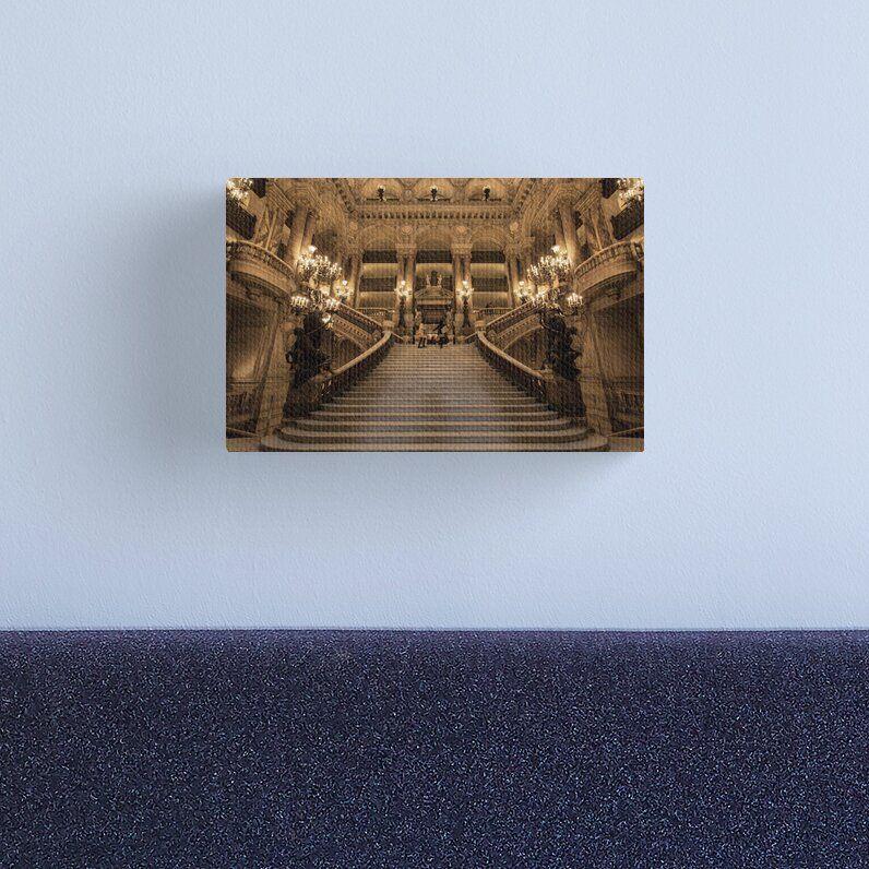 Wel e To Opera Garnier 1 © Canvas Print by © Hany G Jadaa © Prince John graphy