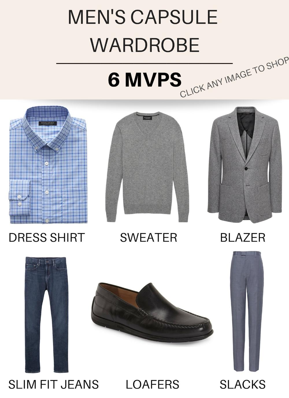 Capsule Wardrobe for Men: The Best Secret in Mens Style