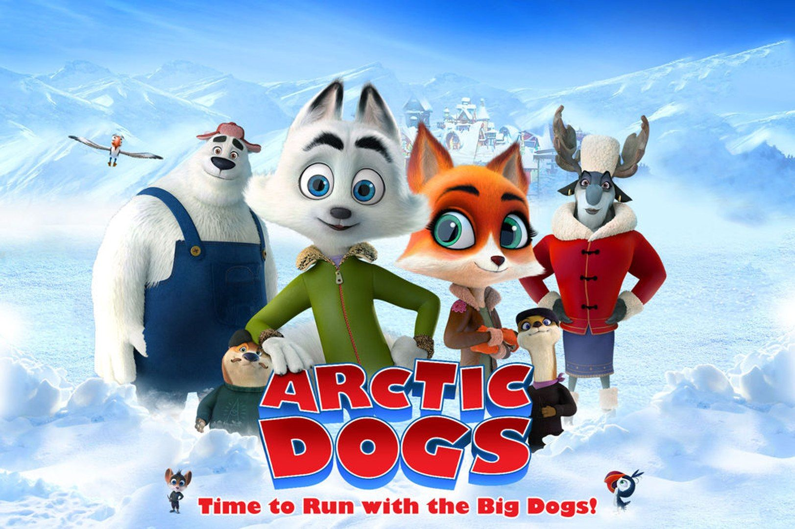 Eng.Sub Arctic Dogs Full_Movie (2019Free