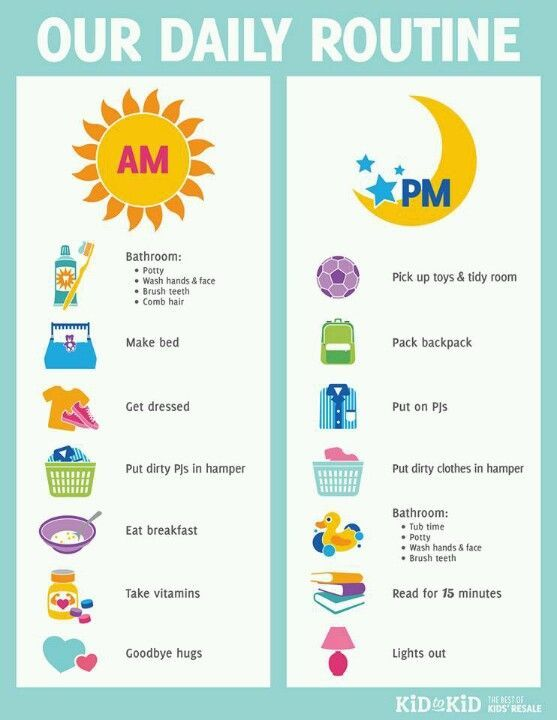 Pin by Yasmin on Children Kids schedule, Charts for kids, Chores