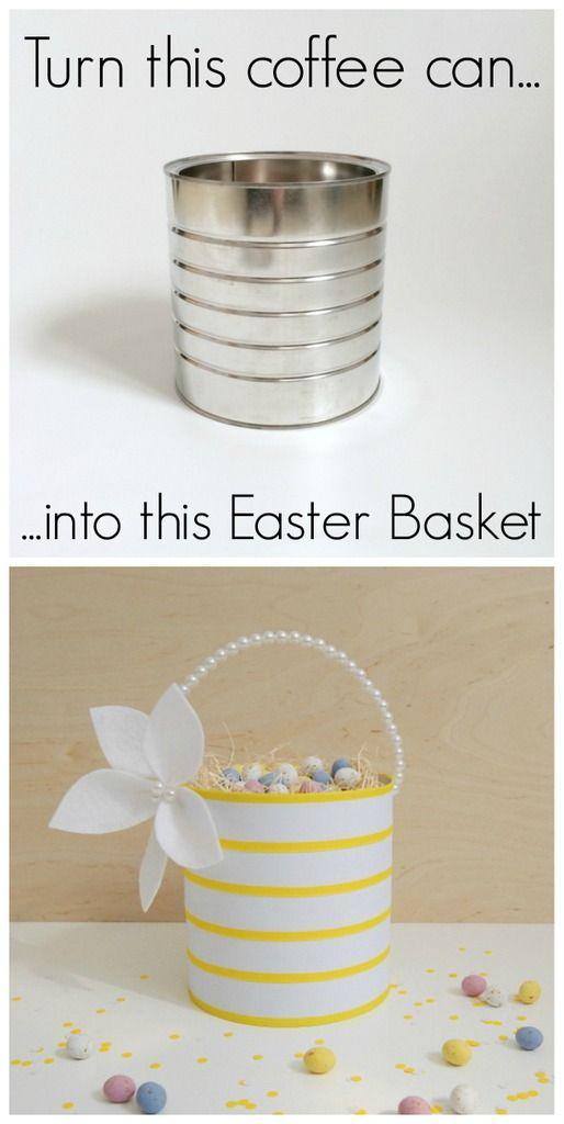 Upcycled easter basket easter baskets easter and craft upcycled easter basket negle Image collections