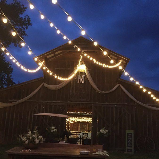 The barn all lit up @honeycreekfarms_tn. Have a wonderful and safe night friends! Happy Cinco de Mayo #Alamango #Bridal #Textiles #Wedding #AlamangoBridal #AlamangoTextiles #Malta #LoveMalta #Bridesmaid #WeddingDress